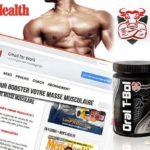 vente de produits de musculation